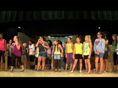 "Central Ridge Elementary's  ""A Ridgeback Within"" Musical  P1"
