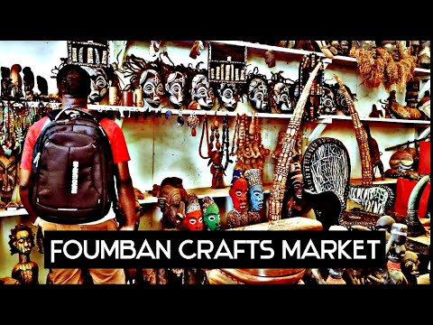The history behind the craft markets of FOUMBAN (Village des artisans 🧤)