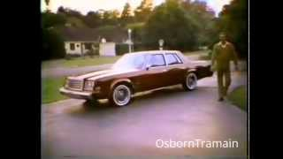1979 Chrysler Newport Commercial with Hal Linden - R body Chrysler