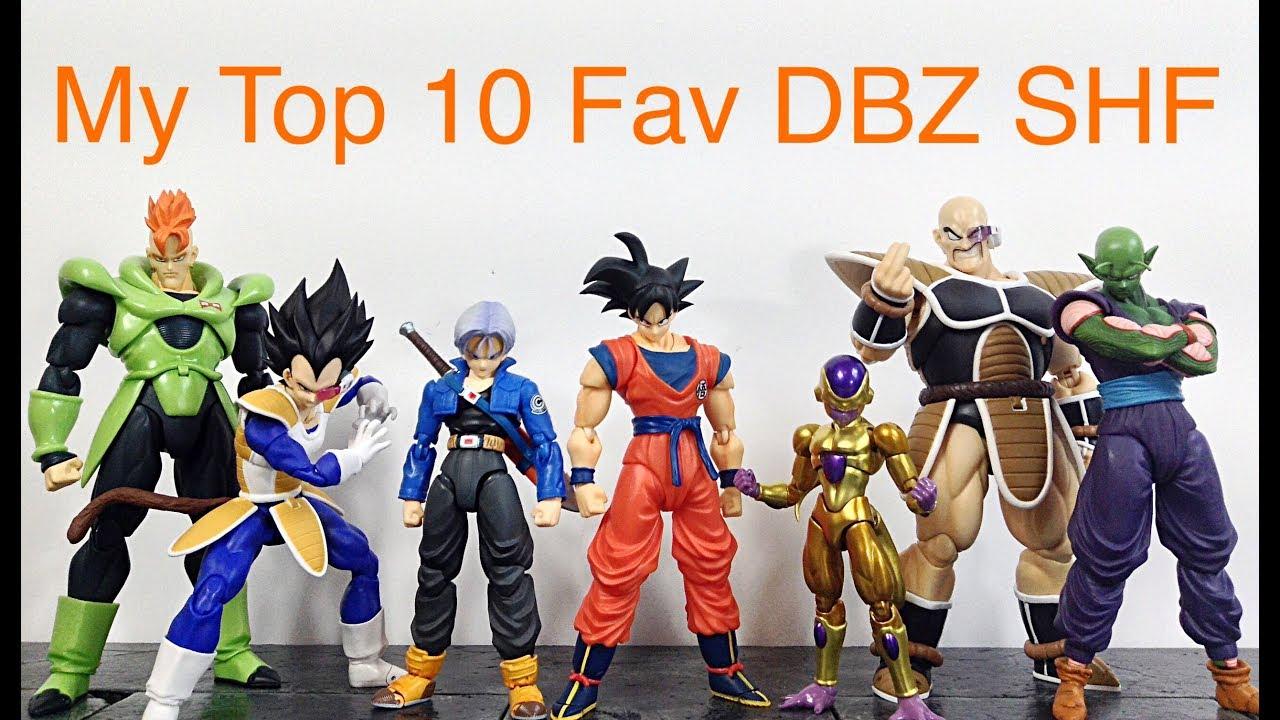 Dragon Ball Z Toys : My top favorite sh figuarts dragon ball z action