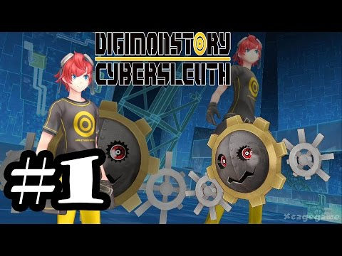 Digimon Story Cyber Sleuth - Gameplay Walkthrough Part 1 - PS4 [ HD ]