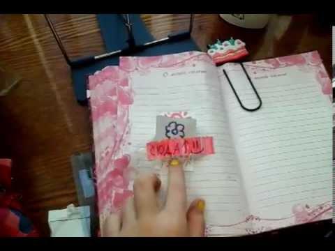 Как сделать страницы в секретном дневники