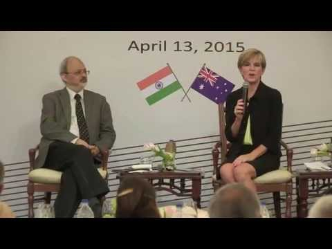 Visit of Hon. Julie Bishop for inaugural  'Indo- Pacific Oration'
