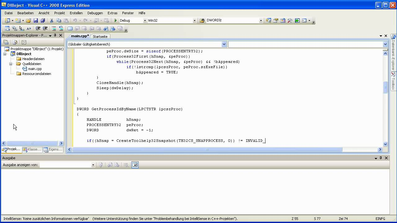 how to make a dll injector