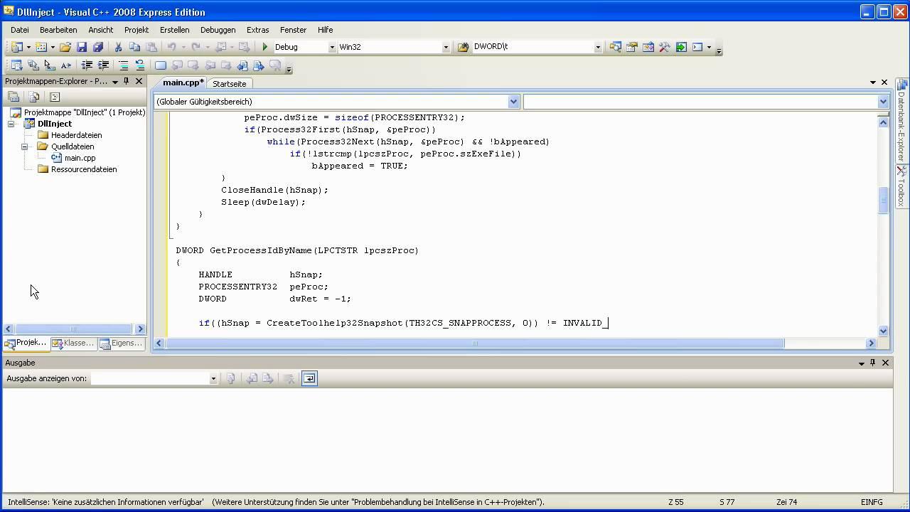 [C++] Dll Injector