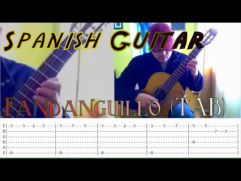 (TAB)Fandanguillo  Learn to play your first Spanish Song Flamenco