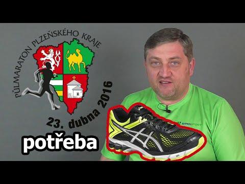 Příprava na půlmaratón - potřebuji nové boty - navštívil jsem Hervis