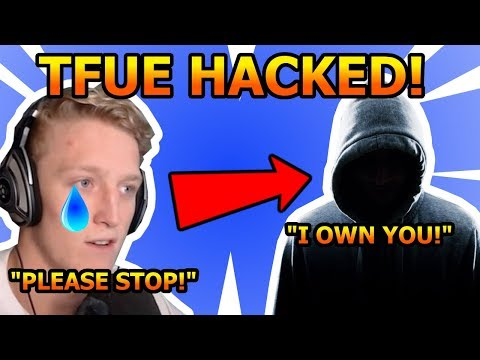 Tfue Gets *HACKED* On Twitter, Twitch and...