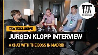 Jurgen Klopp Exclusive Interview: 24 Hours In Madrid