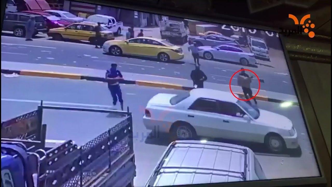 فيديو يوضح هروب لصوص سرقوا 600 مليون من العشار #المربد