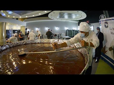 Самую большую шоколадную монету сделали в Венесуэле (новости)
