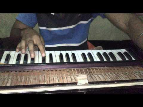 JHUME KI RAAT HAI on harmonium leads or...