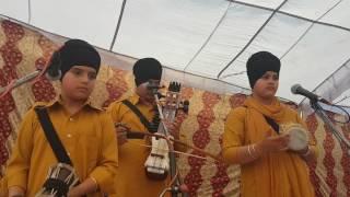 ASA khalsa dhadi jatha at ferozpur remembering sukha singh and jinda singh ji shaheedi