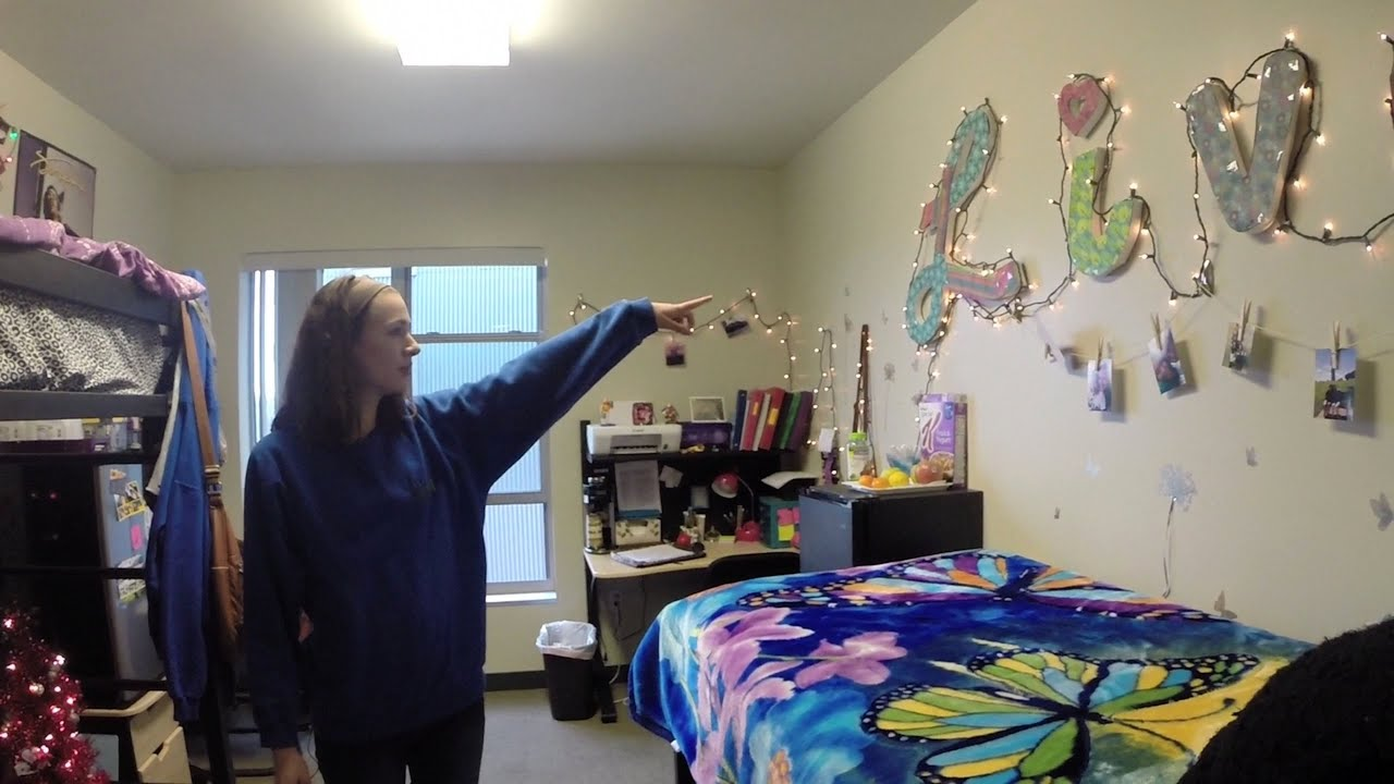 UWM Room Tour Riverview Double