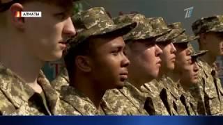 Парень африканского происхождения будет служить в рядах вооруженных сил Казахстана