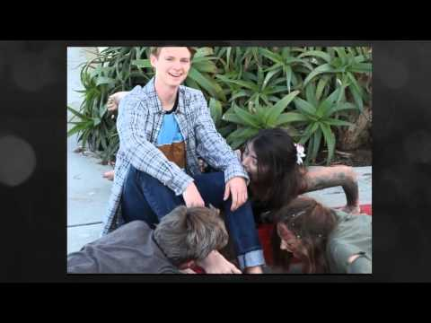 High School Senior Photography Session with Zombies! Newport Beach, CA