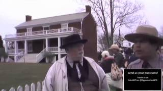 Surrender at Appomattox Court House:  Arrival of Robert E. Lee