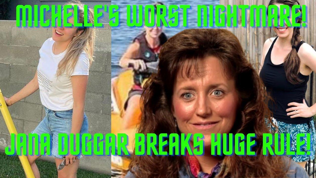 JANA BREAKS FREE! Jana Duggar Shocks Fans By Breaking Duggar Rule By Showing Thigh, Shoulders