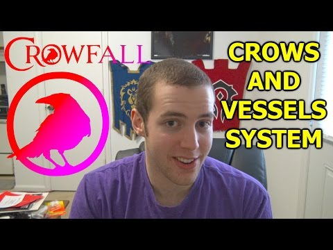 CROWFALL HYPE! Crows and Vessels System + Insane Chraracter Customization and Possibilities
