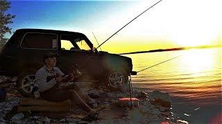Мы его поймали! Рыбалка на фидер! Карась Плотва Сазан! Рыбалка в черте города!