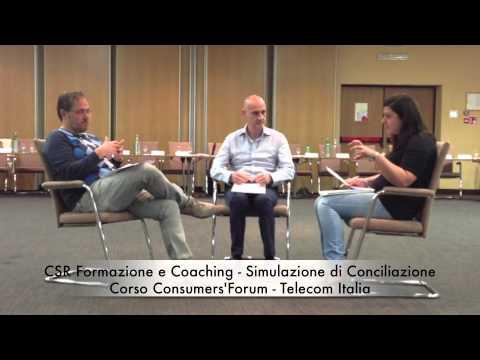 Corso Consumers'Forum - Telecom Italia: Simulazione 1