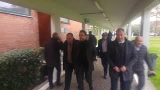 """Eusebio Di Francesco al seminario con i giornalisti sportivi """"Il calcio e chi lo racconta"""""""