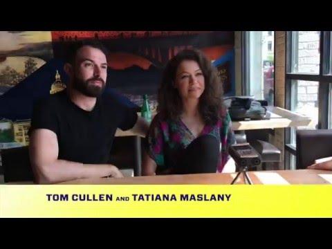 Tatiana Maslany Tom Cullen & Joey Klein   The Other Half Film SXSW 2016 ONEOFUS.NET