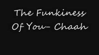 The Funkiness Of You- Chaah