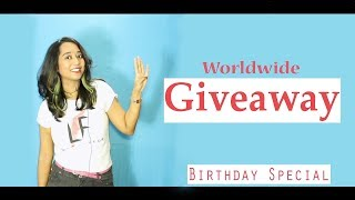 La Fonceur- Free Giveaway Worldwide | Win $20 Gift card, Free T-shirt, Mug & Cap | Birthday special