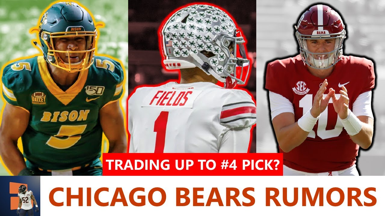 Chicago Bears Rumors: Trade Up To #4 Pick In NFL Draft + Sign Bashaud Breeland, Orlando Brown Trade?