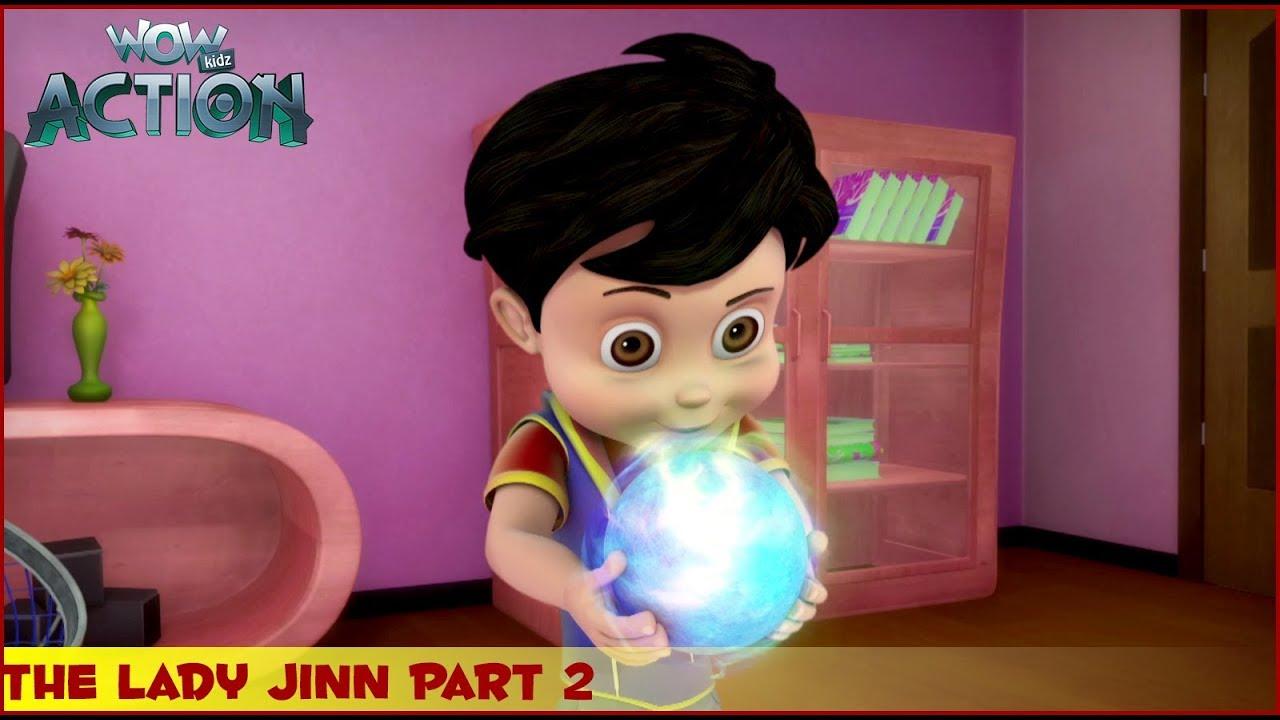 Download Vir : The Robot Boy   The Lady Jinn Part 2   3D Action shows for kids   WowKidz Action