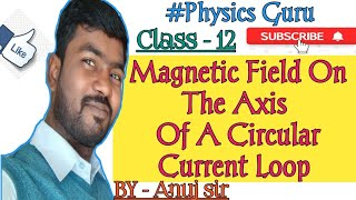 Magnetic Field On The Axis Of A Circular Current Loop