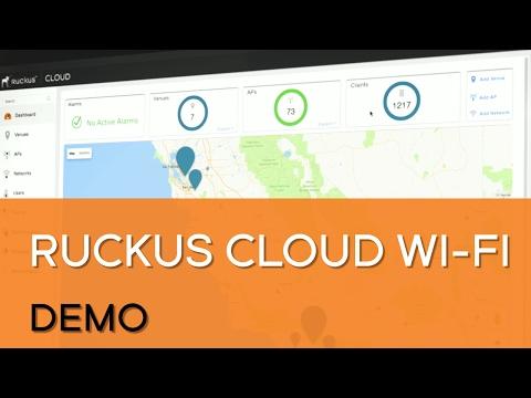 Ruckus Cloud Wi-Fi Demo