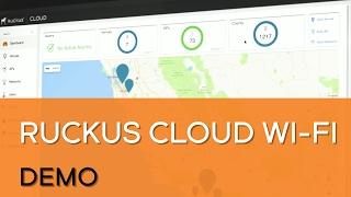 WiFi hébergé dans le Cloud de Ruckus