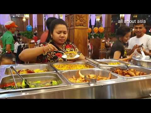 Su Su Suki Soup Buffet In Phnom Penh - 17.5$ Per Person - Popular Street Food
