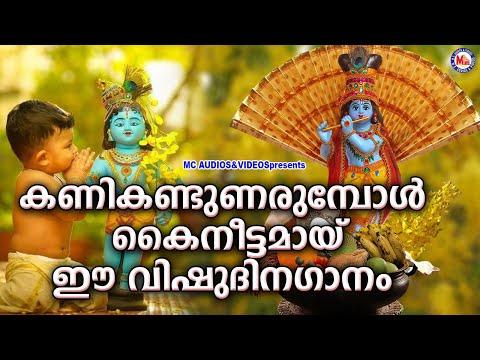 ഐശ്വര്യപൂർണ്ണമായ വിഷുകൈനീട്ടവുമായ് ഈ ഗാനം | Vishu Special Sree Krishna Songs | New Devotional Songs