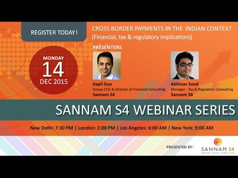 Webinar Recording: Cross Border Payments in the Indian Context