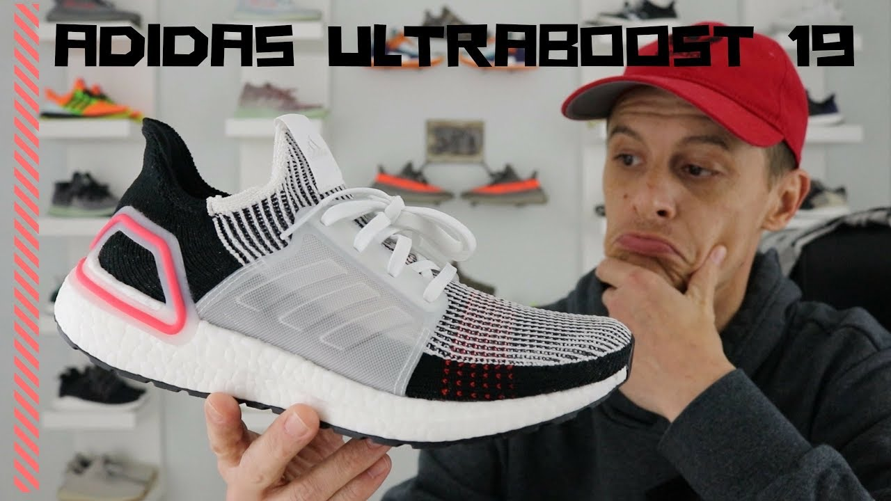 e694893f047 ADIDAS ULTRABOOST 19 LASER RED - On Foot Review (Does it get a W or a Fail )