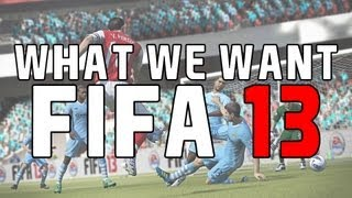 Fifa 13 - What We Want - Dynamic Weather, Consumables and Booster Cards!