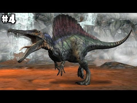 Dino World Online - Hunters 3D - Spinosaurus - Android / iOS - Gameplay Part 4