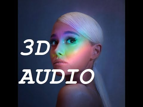 Ariana Grande 3D AUDIO  No Tears Left To Cry