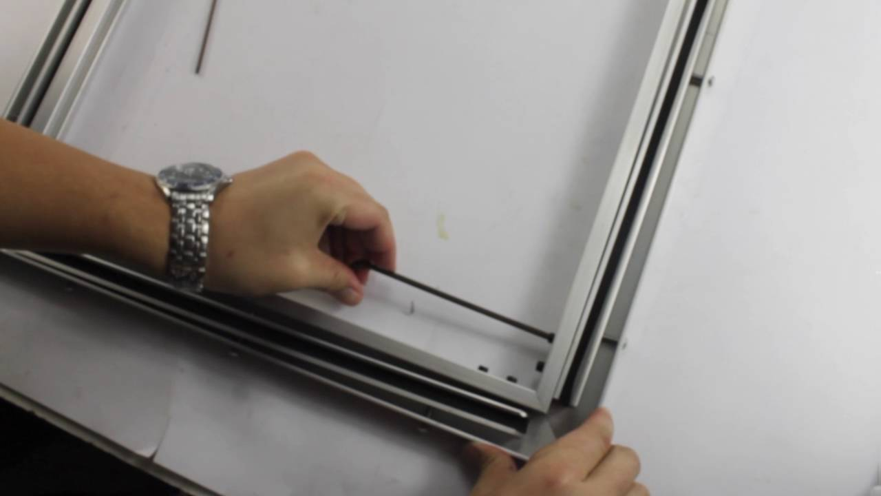2015 Self tensioning Frame Kit A 219304 - YouTube
