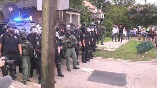 Up to 40 Black Lives Matter protesters arrested in Baton Rouge