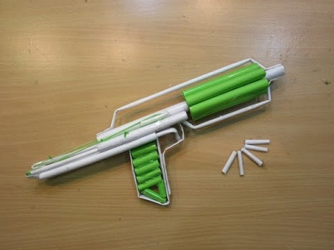How to make a Paper Gun that shoots 7...