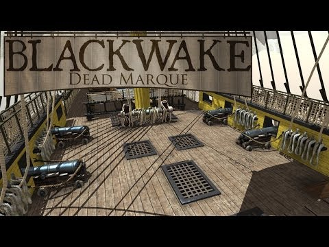 Blackwake - Alpha - more ship battle footage