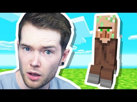 I Bred a CREEPER and VILLAGER together in Minecraft!