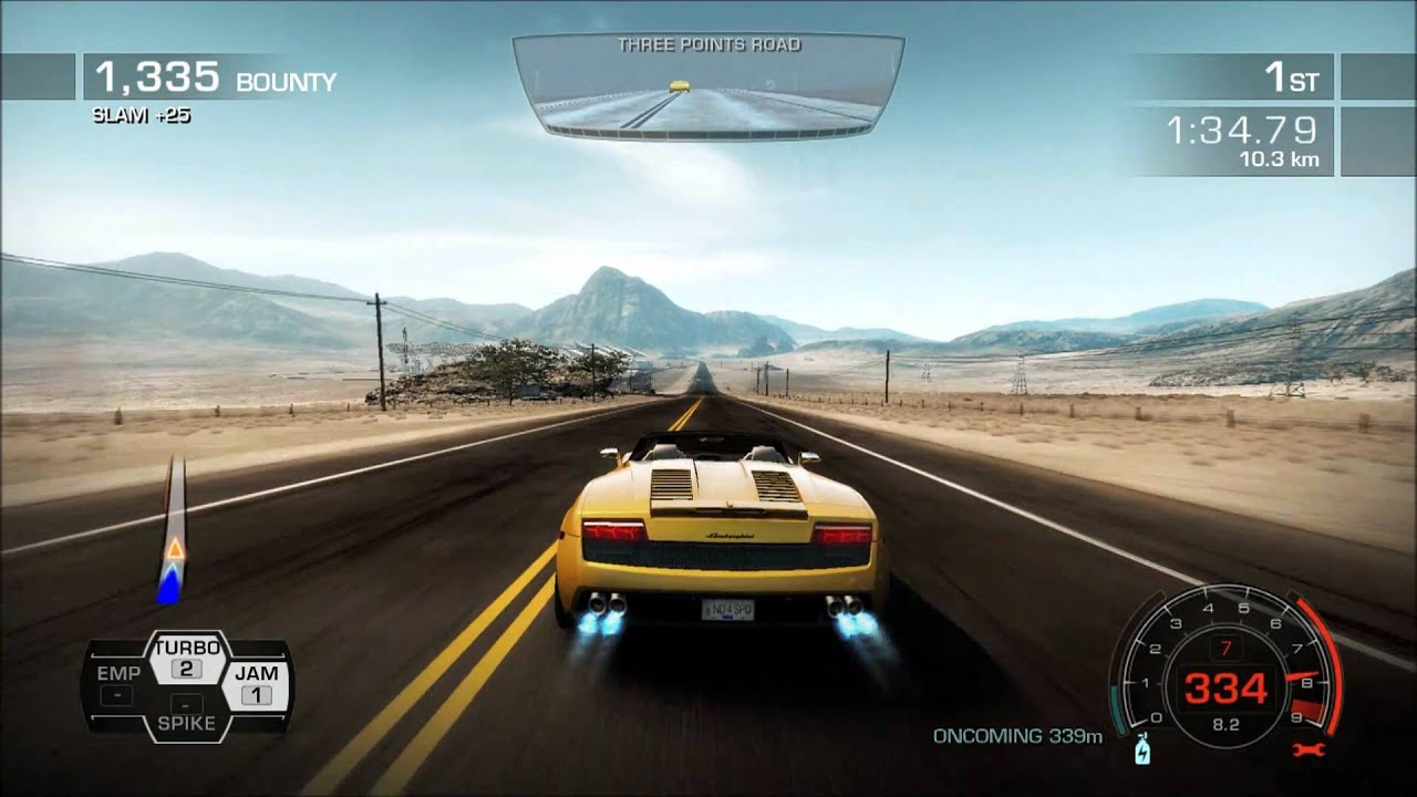 pc need for speed hot pursuit lamborghini gallardo lp560 4 spyder 1080p. Black Bedroom Furniture Sets. Home Design Ideas