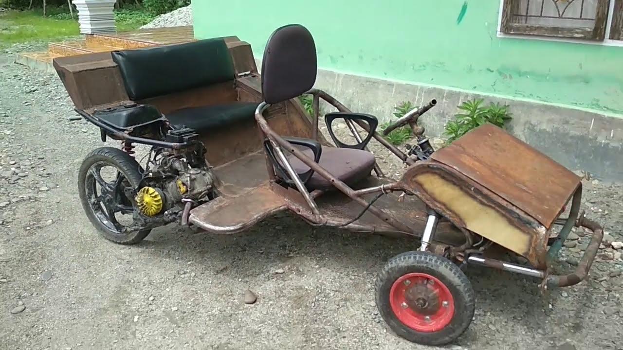 Kreatif Motor Mio Disulap Jadi Mobil Mini Edoard Banne