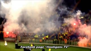 Download Video Chaos during the match AS Roma vs CSKA Moscow 17.09.2014 (HD) MP3 3GP MP4