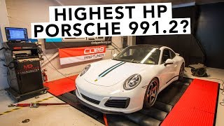 Porsche 911 991.2 Carrera Makes How Much Power?!